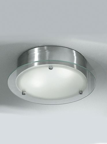 Franklite CF1249 Satin Nickel Flush Light